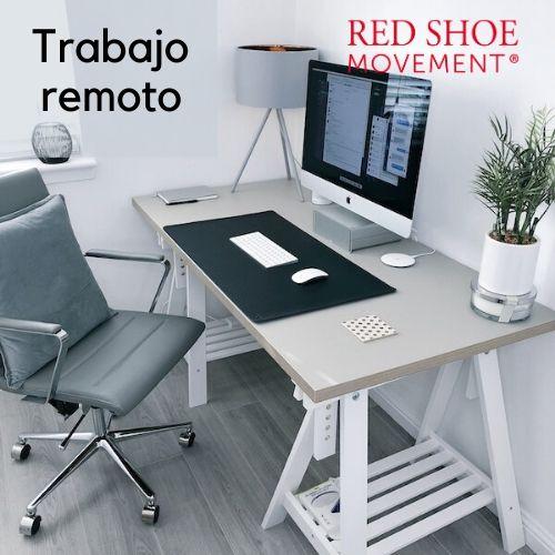 Trabajo remoto crea un espacio en tu casa. Foto Credit: James McDonald .Unsplash