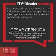 Cesar Cernuda: fomentando la inclusión total en Microsoft