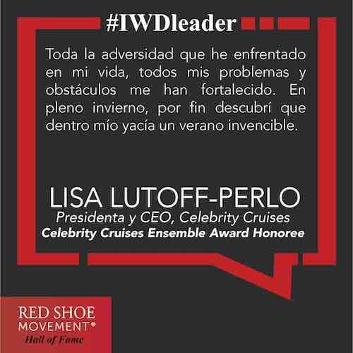 Lisa Lutoff Perlo lucha por eliminar la brecha de género en el mar