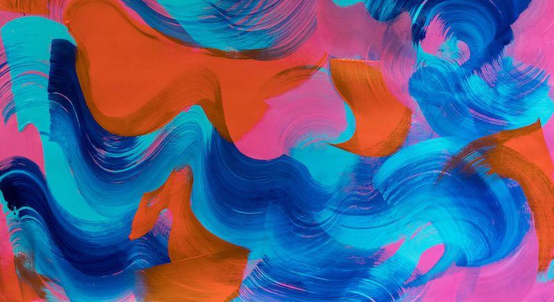 Corriente Cromatica, la obra de Scherezade Garcia