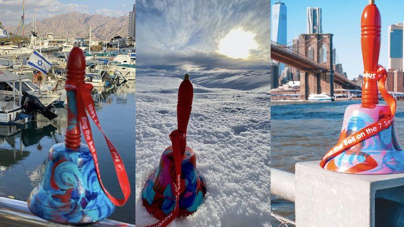 Collage de Campanas del RSM en el mundo