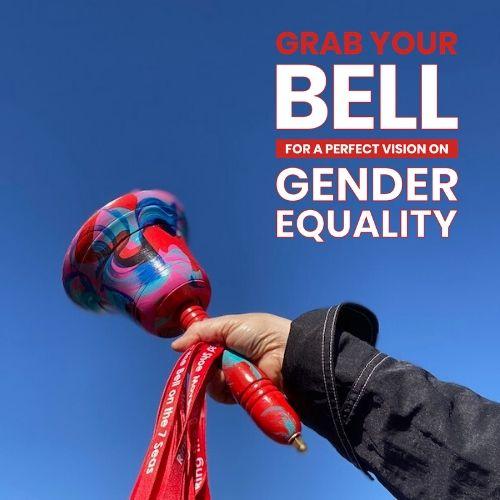 Súmate tocando tu campana por la equidad de género