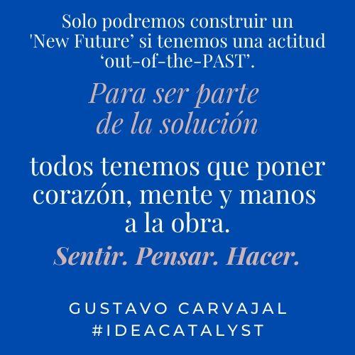 Frase inspiradora Gustavo Carvajal