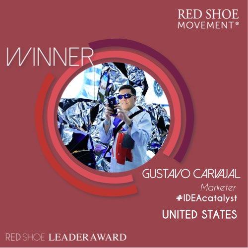Gustavo Carvajal: Ganador del premio Red Shoe Leader Award 2019 por su infatigable apoyo al crecimiento profesional de la mujer.