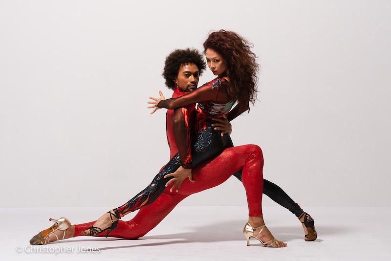 Bailarines Abdiel Jacobsen & Kristine Bendul Photo Credit Caravaglia Studio - Photographer Christopher Jones