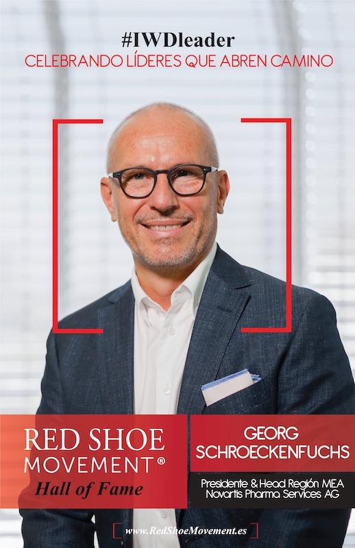 Georg Schroeckenfuchs, uno de los ganadores del Salon de la Fama 2021 habla sobre transformación cultural