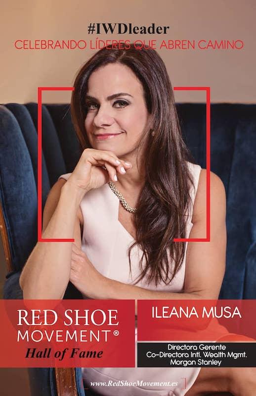 Ileana Musa lidera el cambio transformacional en cada comunidad en la que trabaja. Particularmente, la latina.