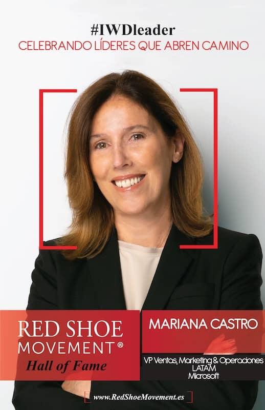 Mariana Castro, VP Ventas, Marketing & Operaciones LATAM en Microsoft es honrada con el Salón de la Fama 2021