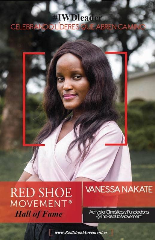 Vanessa Nakate, activista climática, honrada con el Salón de la Fama 2021