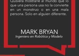 Mark Bryan desafiar estereotipos frase inspiradora